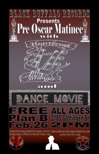 Pre-Oscar Matinee at Plan B Halifax