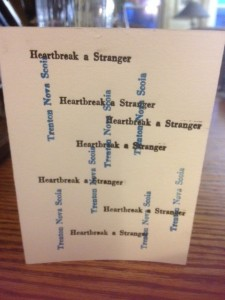 Letterpress Card 3