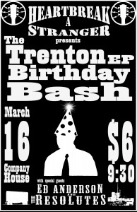 Trenton EP CD Release Poster